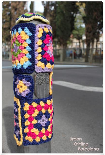 pilona urban knitting barcelona