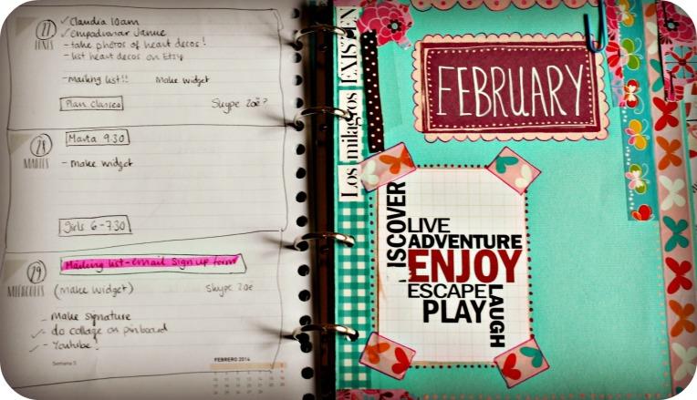 feb planner