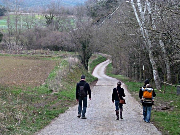 santa pau walking