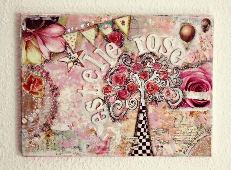 estelle collage almost fnished
